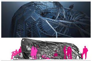 Progetti De Leo & Drasnar a Londra: (C) Space DRL10 Pavilion