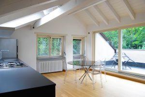 Progettazione Interni con Controsoffitti in Legno bianco Torino | De Leo & Drasnar