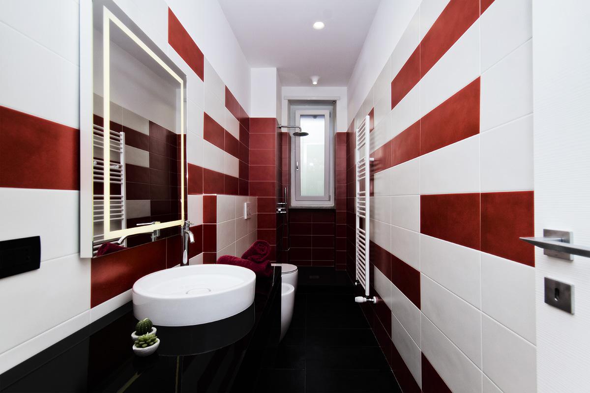 Interior Design Bagno | De Leo & Drasnar | Studio di Architettura di Torino